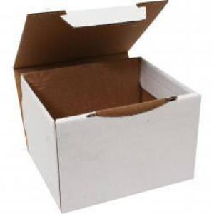 12,5x11x8cm Beyaz Kutu