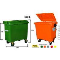 660 Lt Plastik Çöp Konteyner